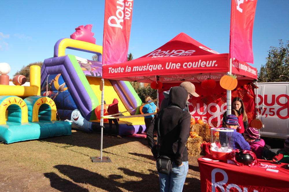 Animation Rouge fm - La Ferme Genest