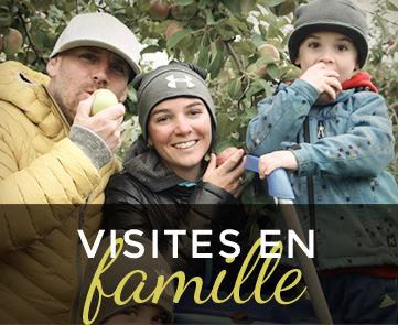 Visites en famille - La Ferme Genest